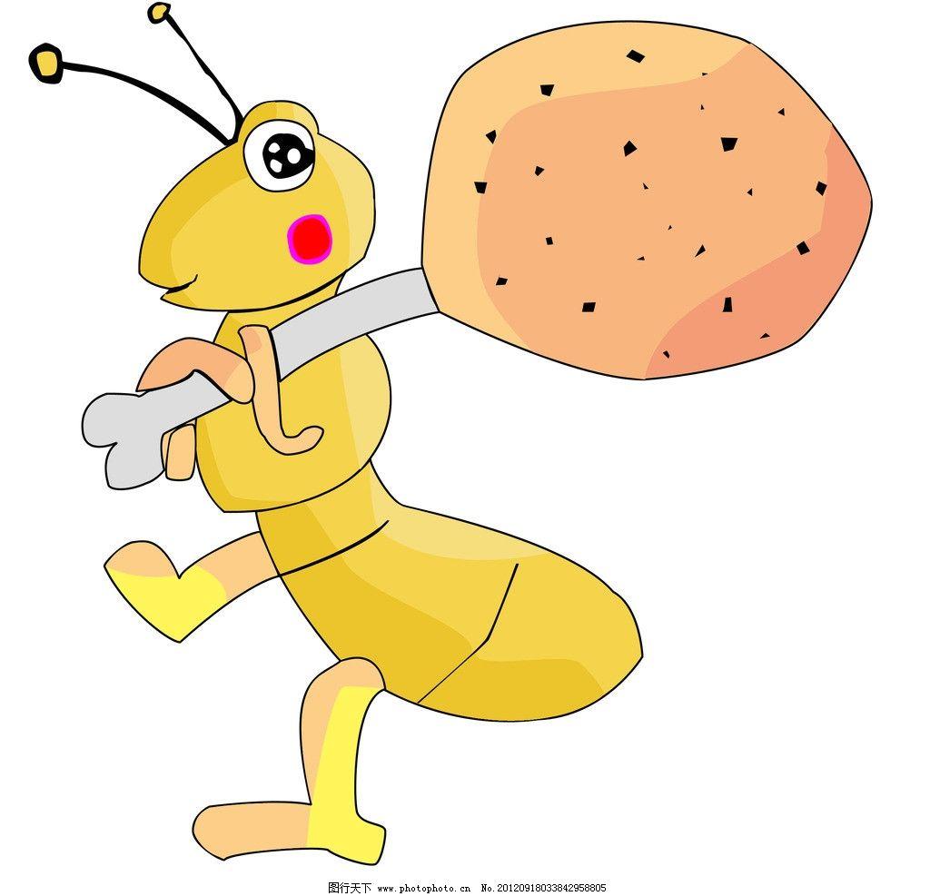可爱的小蚂蚁图片