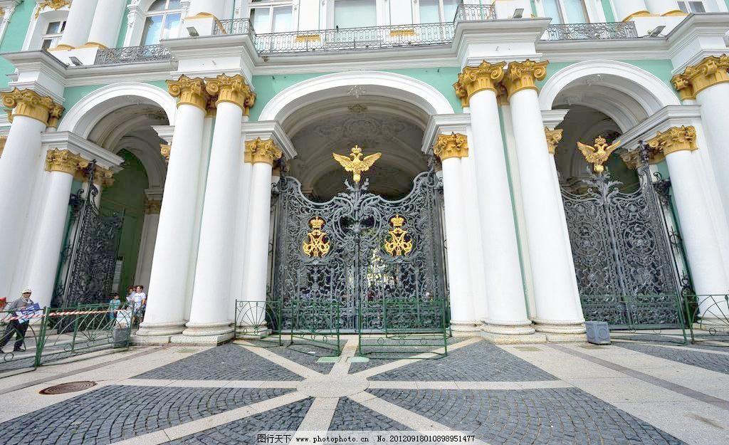 欧式建筑 欧式建筑图片素材下载 欧式建筑 欧式 建筑 法国 铁门 白色