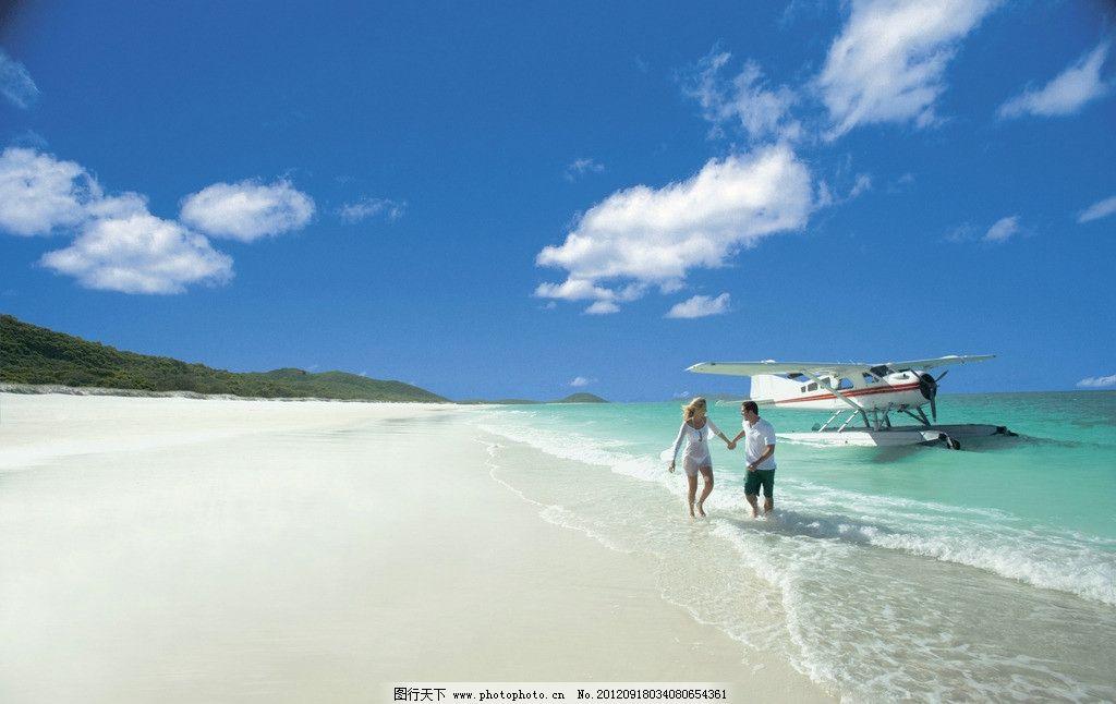 马尔代夫 群岛 大海 海岸 沙滩 海面 蓝天 天空 国外旅游 旅游摄影