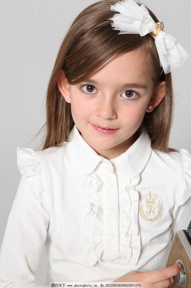 小美女 女童 童装 小模特 小女孩 小朋友 小萝莉 儿童幼儿 人物图库