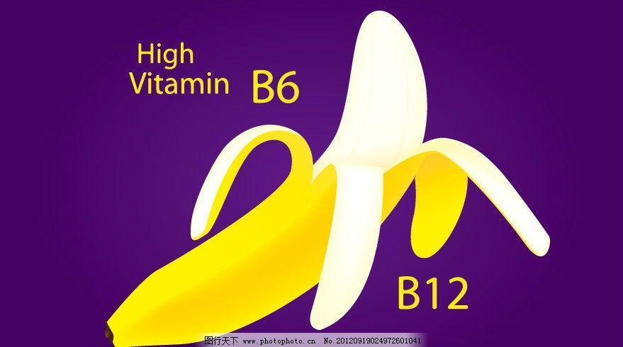 香蕉背景图片