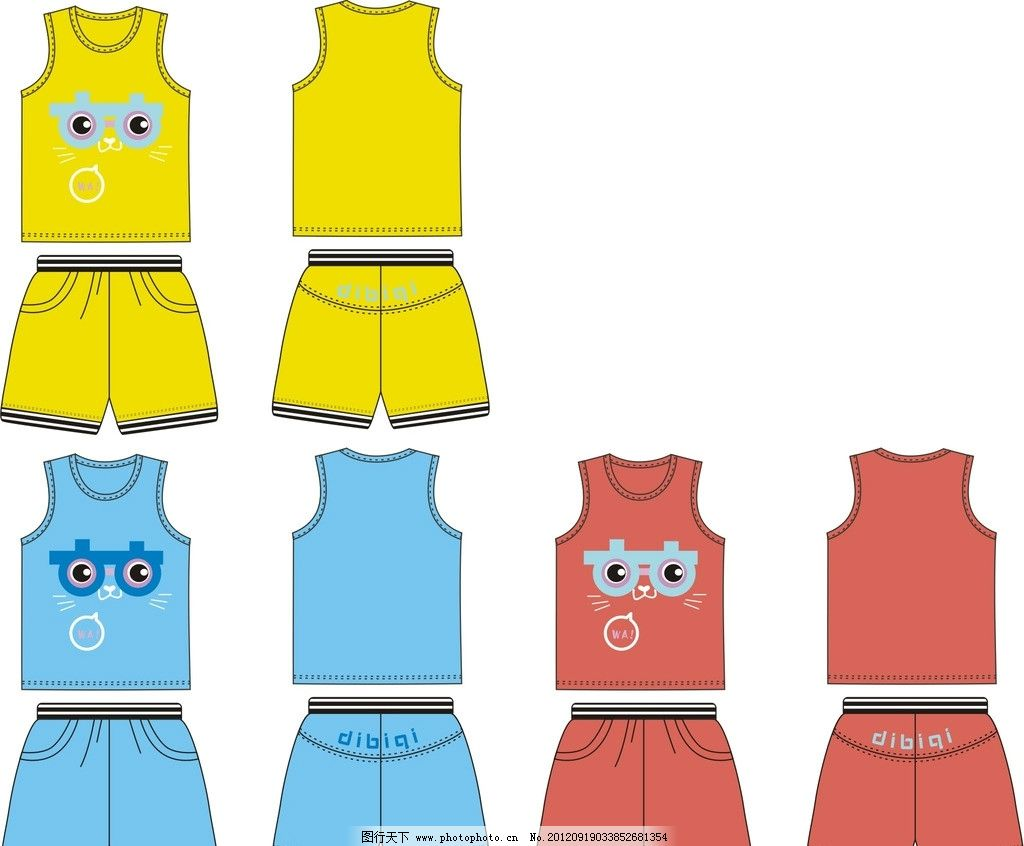 儿童服装图片