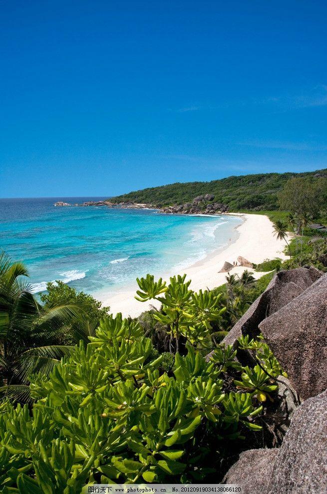 塞舌尔海岛风景