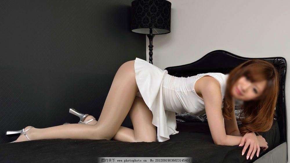 性感模特 性感美女 长发美女 服装 服饰 连衣裙 丝袜 袜子 女人 美女