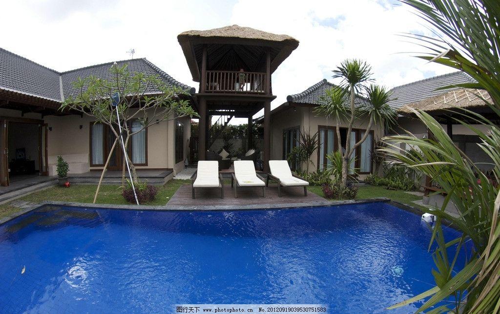 泳池 室内泳池 楼亭 绿色 园林建筑 建筑园林 摄影 72dpi jpg