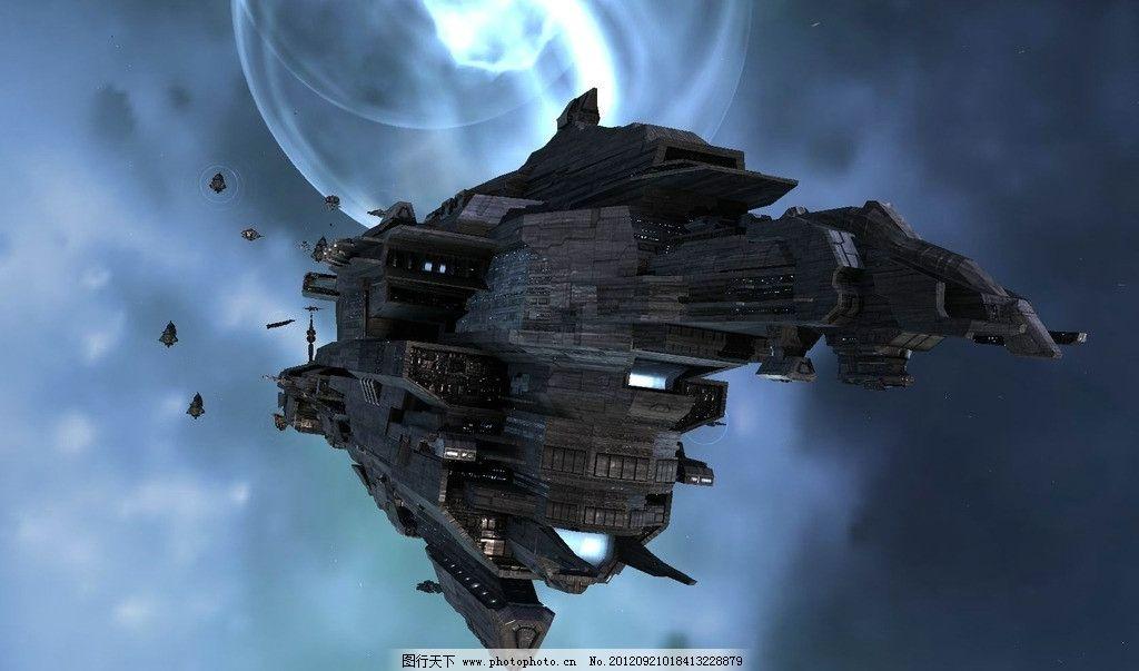 星球战舰 科幻 宇宙 宇宙飞船 超时空 动漫风景 设计 72dpi jpg