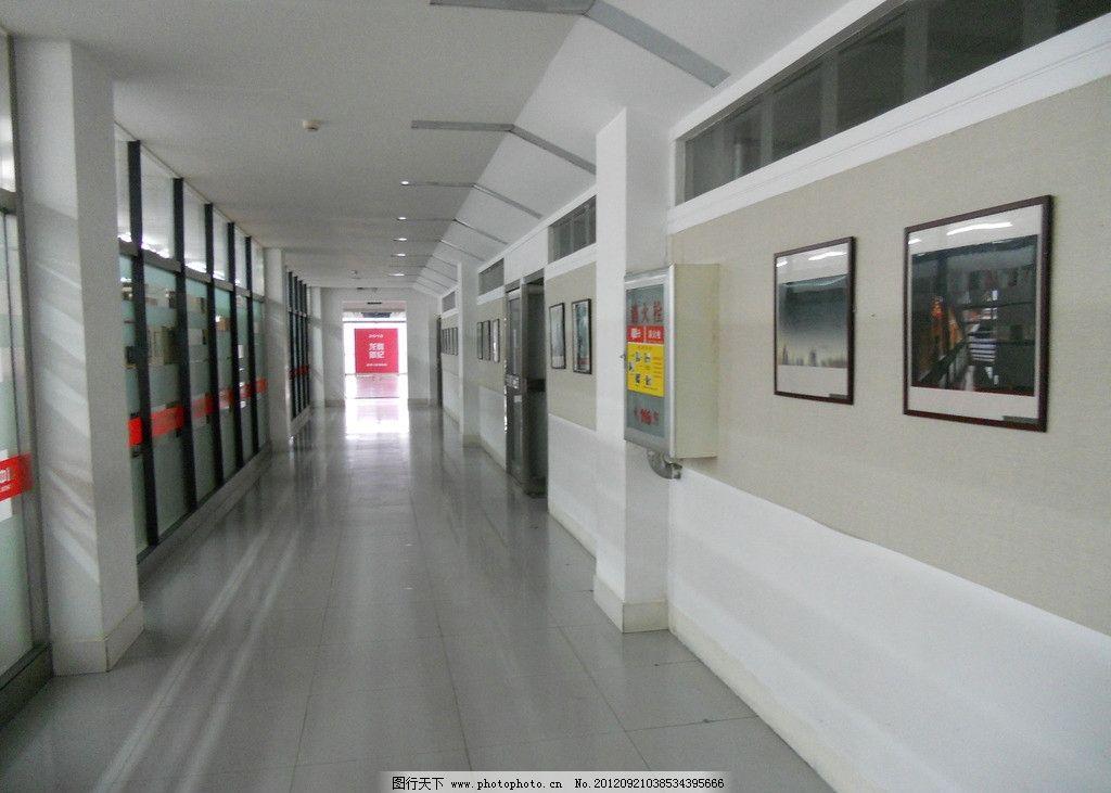 图书馆明亮 艺术走廊 文化长廊 摄影壁画 人文艺术 白色墙面 光线明亮