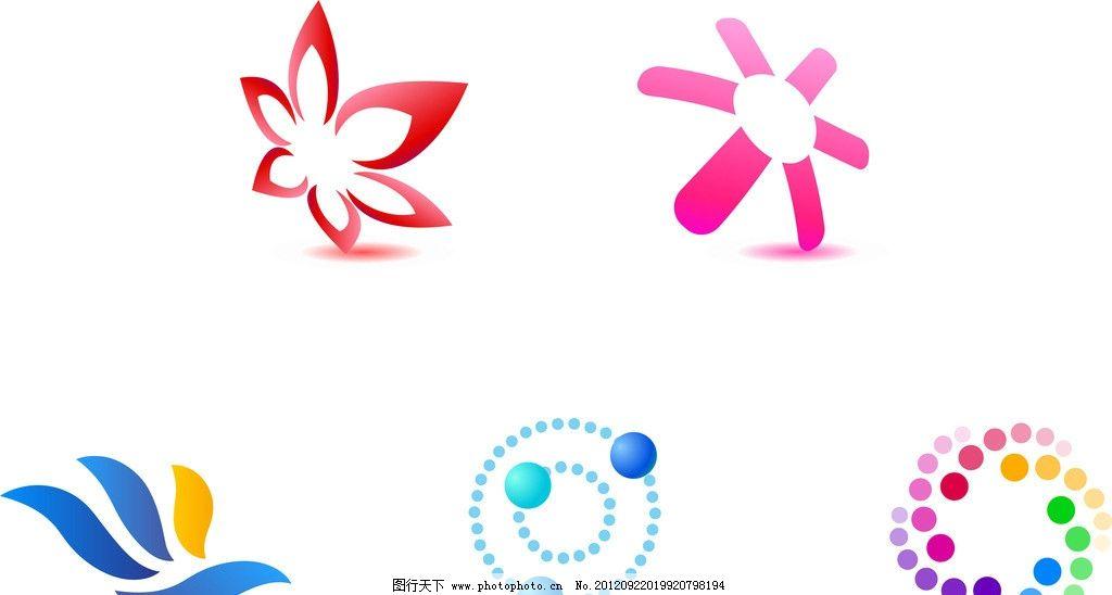 企业标志 企业logo 创意标志 花瓣logo 四叶草logo 创意logo logo设计