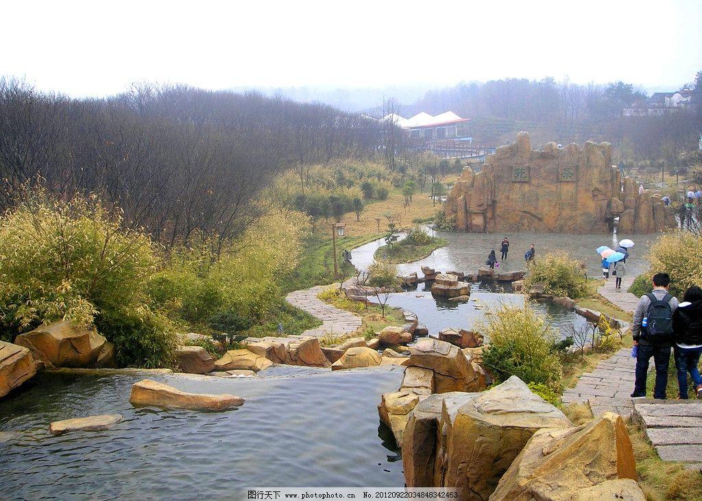 森林公园 溪水 树林 山林 生态公园 生态旅游 自然 摄影