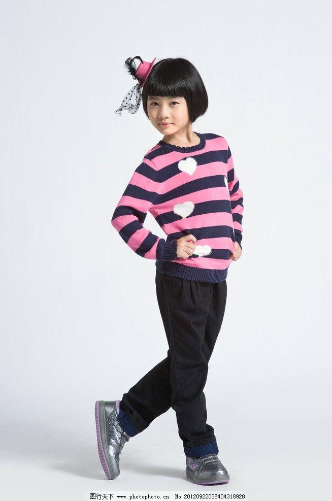 儿童模特 小孩子 小女孩 漂亮 小朋友 可爱 娃娃 卡哇伊 时尚