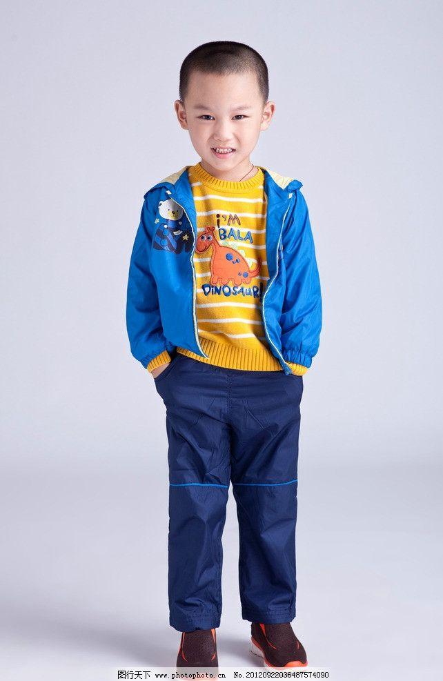 儿童模特 小孩子 小男孩 帅气 小朋友 可爱 娃娃 卡哇伊 时尚 儿童