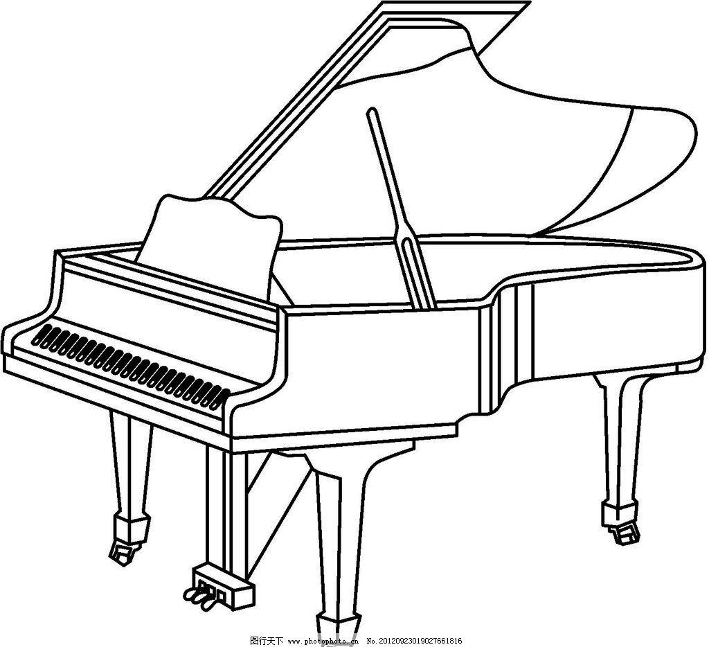钢琴三级曲目郊游谱子