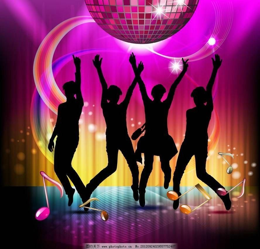 激情舞蹈音乐背景图片
