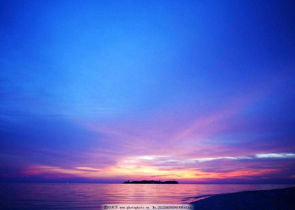 沙巴落日 沙巴 落日 火烧云 夕阳 自然风景 旅游摄影 摄影 180dpi jpg