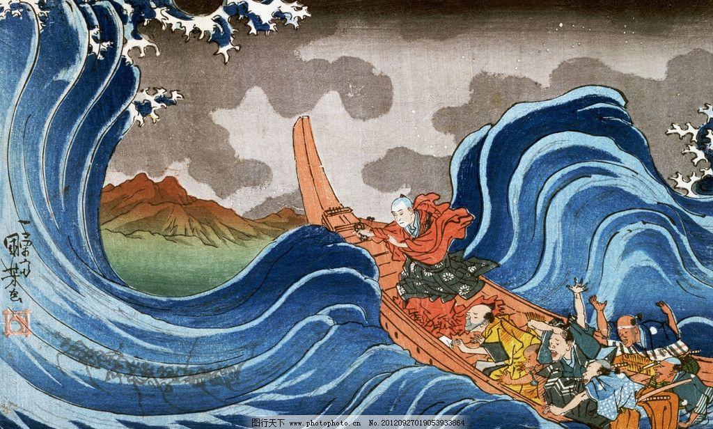 日本 浮世绘图片