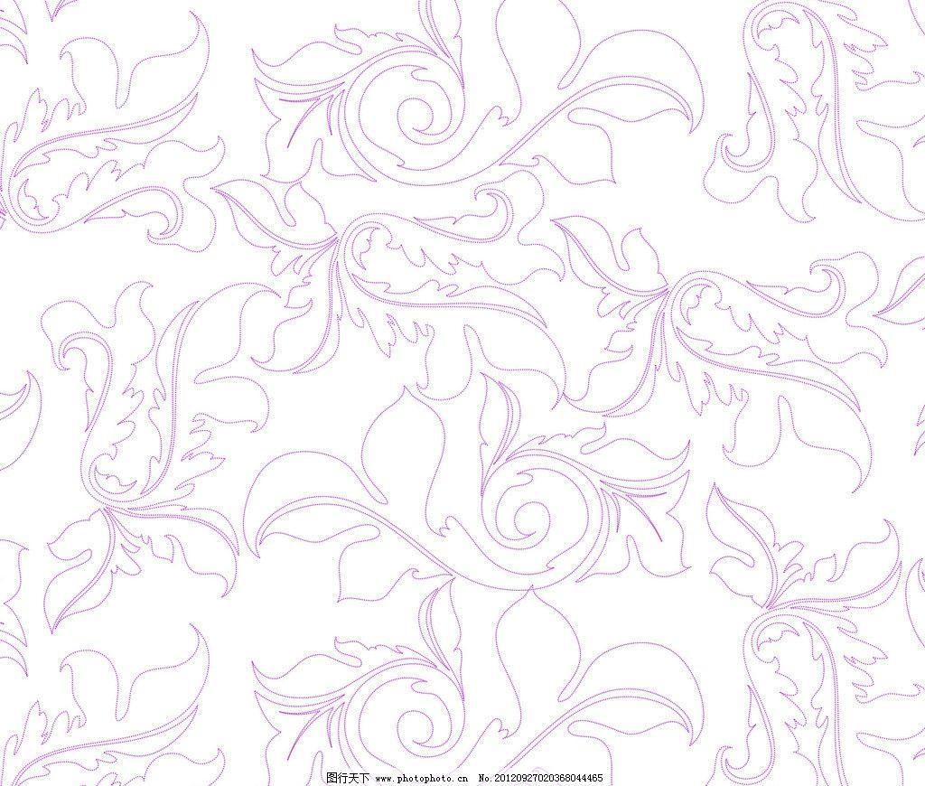 花纹 花纹图案 背景 点线构成 装饰 矢量素材 平面模板 平面设计 平面