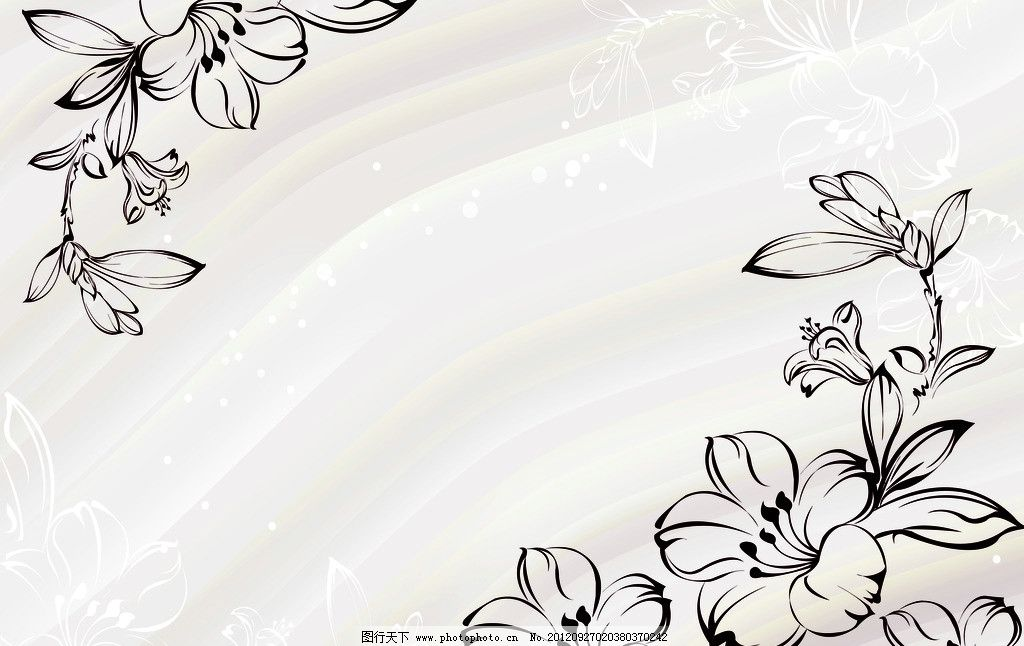 欧式花蔓图片