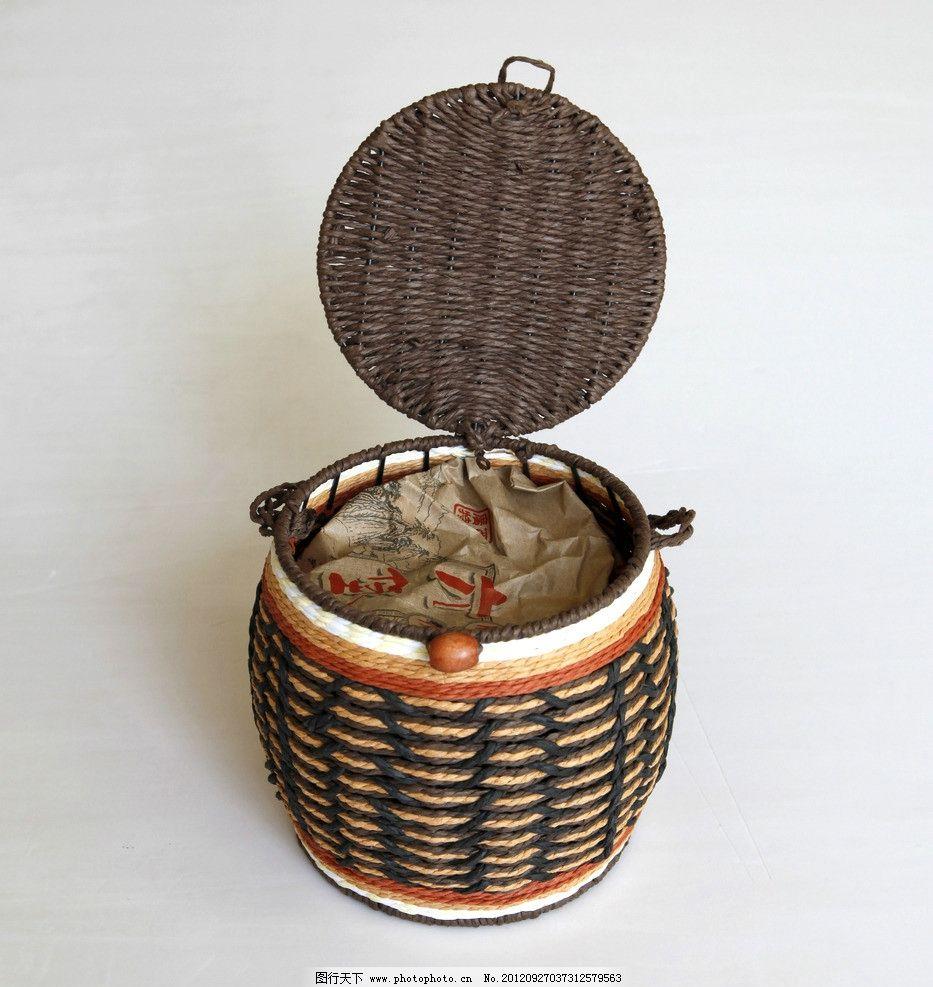 藤箩 编织 箩筐 工艺 茶叶 包装素材 家居生活 生活百科 摄影 72dpi