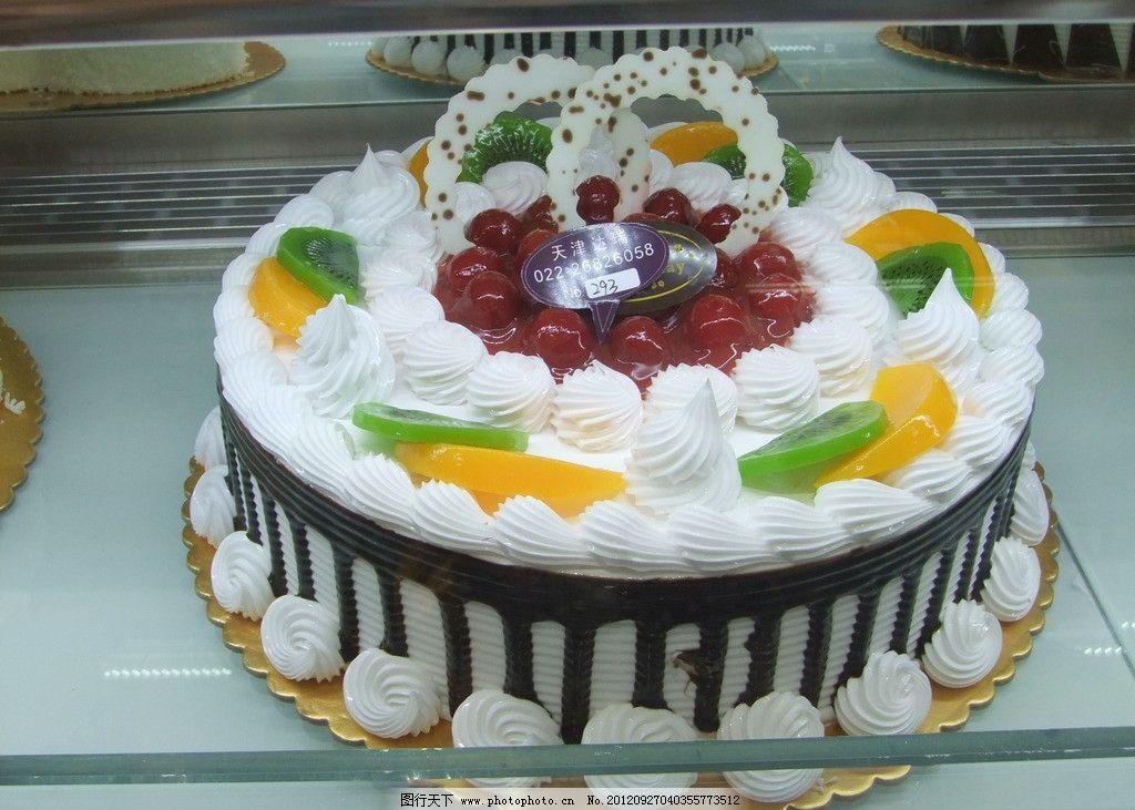 巧克力水果蛋糕图片图片