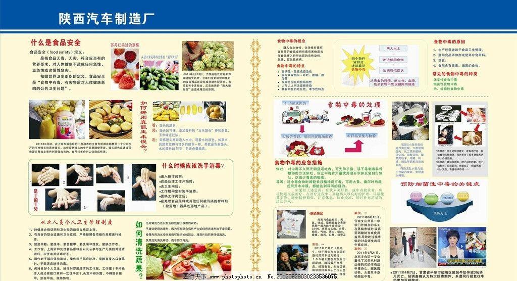 食品安全展板 食品安全案例      文字可编辑 食品安全 展板模板 广告