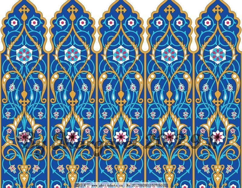 古风 宫廷 欧式 繁花 花枝 花草 花朵 墙纸 壁纸 礼物纸 包装纸 花纹