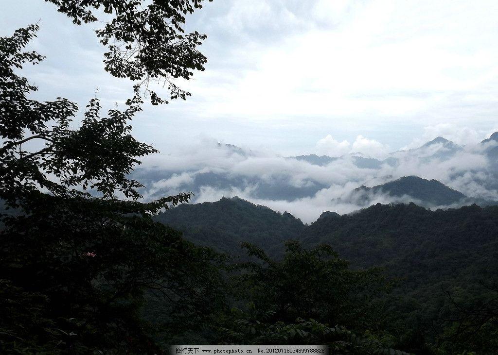 风景图,青城后山,大山,青城山风景,蓝天,白云,秀丽风景